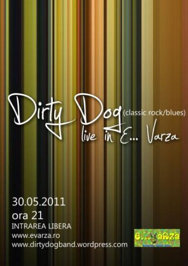 poze concert dirty dog in clubul e varza
