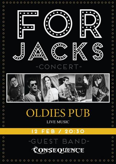 poze concert forjacks si consequence oldies pub sibiu