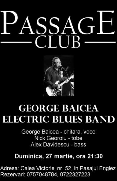 poze concert george baicea in passage club