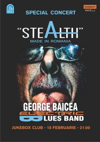 poze concert george baicea stealth made in romania jukebox club