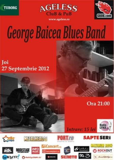 poze concert george baiecea electric blues band in ageless club