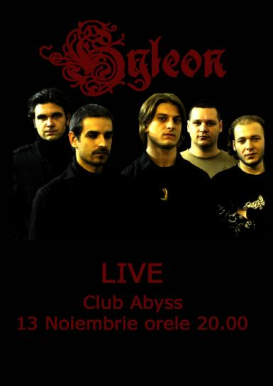 poze concert hyleon in abyss