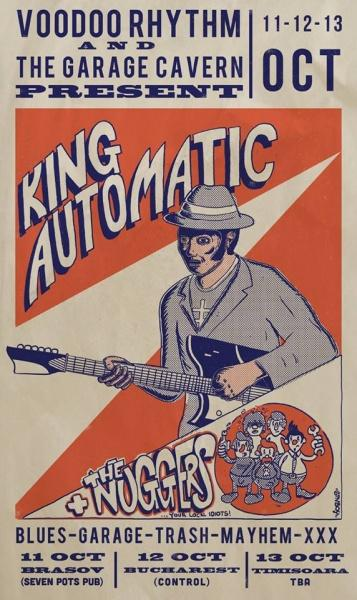 poze concert king automatic in control club