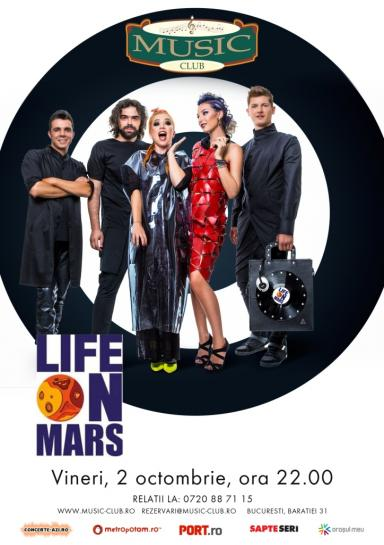 poze concert life on mars music club