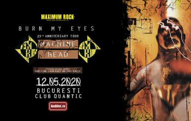 poze concert machine head