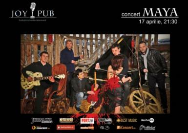 poze concert maya in joy club