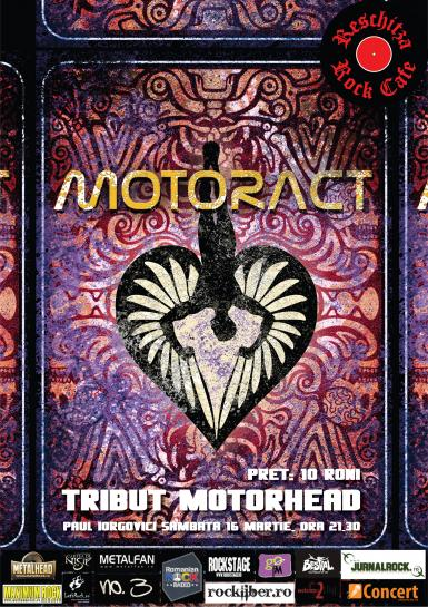 poze concert motoract tribut motorhead in reschitza rock cafe
