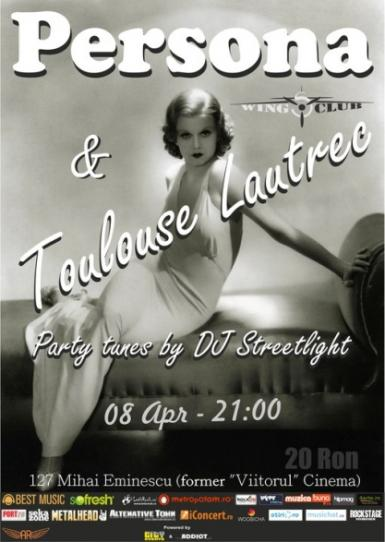 poze concert persona si toulouse lautrec in wings club