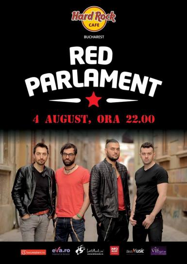 poze concert red parlament pe terasa hard rock cafe