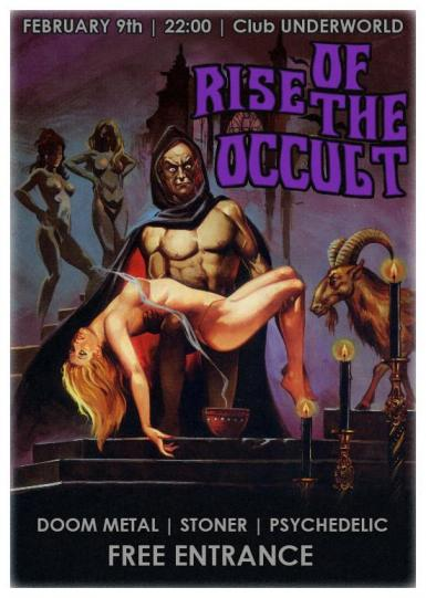 poze concert rise of the occult in club underworld