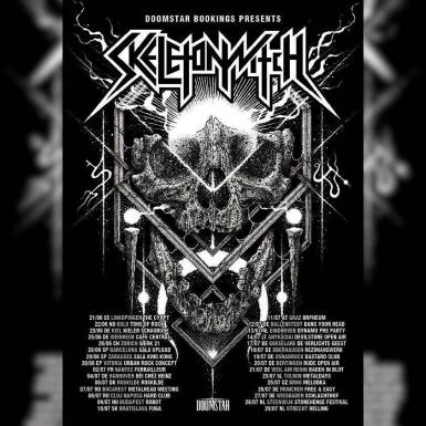 poze concert skeletonwitch left hand path