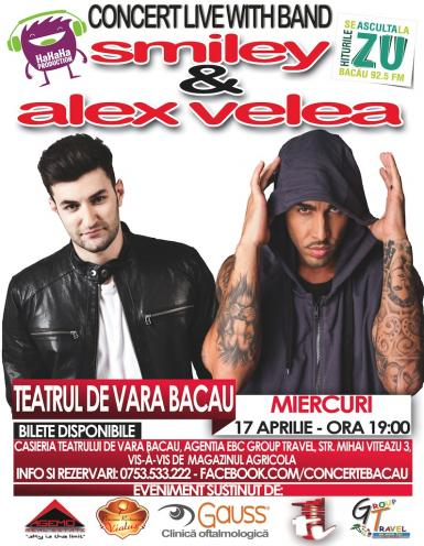 poze concert smiley alex velea with live band 17 aprilie