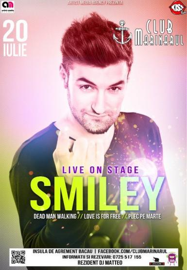 poze concert smiley in bacau
