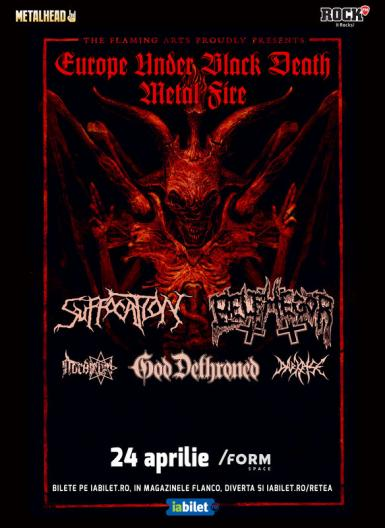 poze concert suffocation belphegor god dethroned
