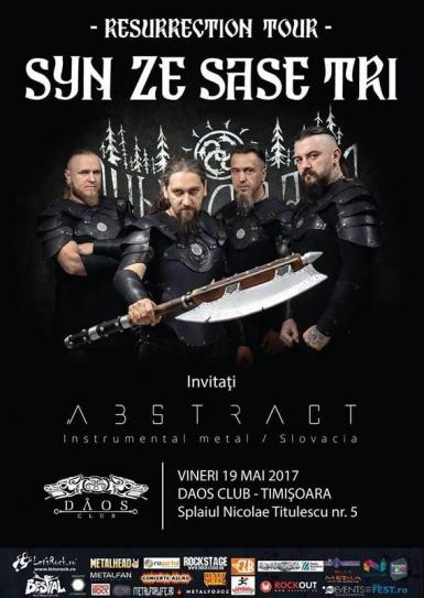 poze concert syn ze sase tri abstract