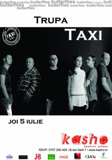 poze concert taxi in kasho club
