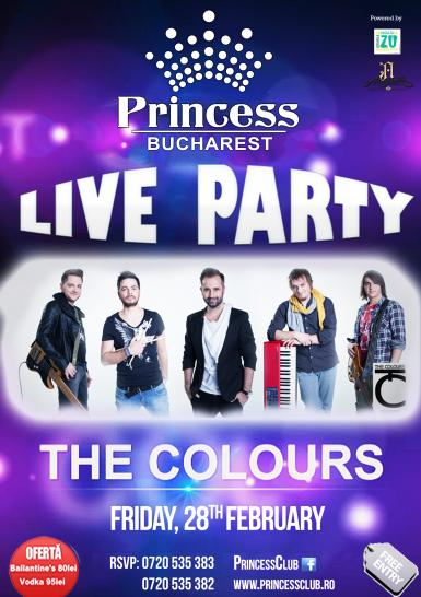 poze concert the colours la princess club