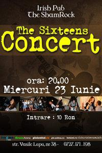 poze concert the sixteens in irish pub ploiesti