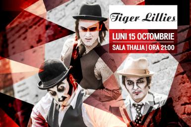 poze concert the tiger lillies