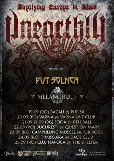 poze concert unearthly la campulung muscel