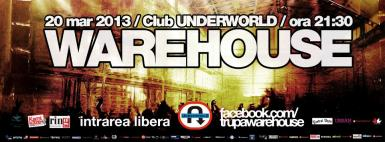poze concert warehouse in club underworld
