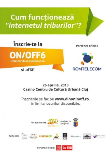 poze conferinta on off6 communities conference