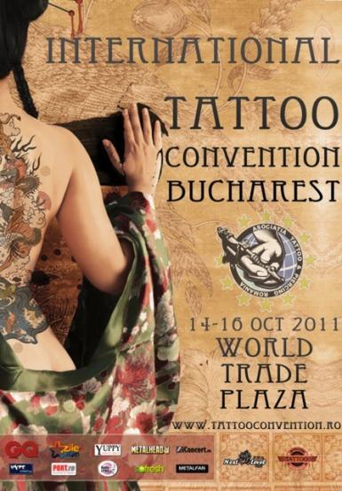 poze conventia internationala de tatuaje la bucuresti