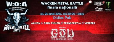 poze dark fusion in finala wacken metal battle din sibiu