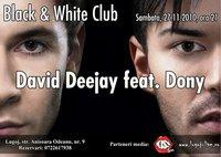 poze david deejay dony black withe club