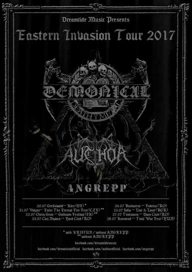 poze demonical author angrepp eastern invasion tour 2017