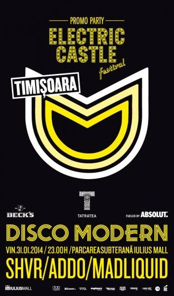 poze disco modern electric castle promo party la timisoara