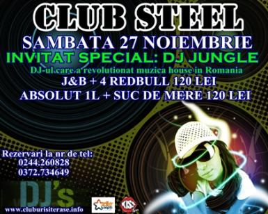 poze dj jungle in club steel