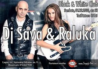 poze dj sava si raluka black withe club