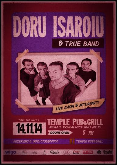 poze doru isaroiu true band temple pub grill