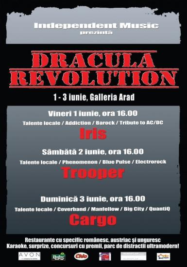 poze dracula revolution tour in arad