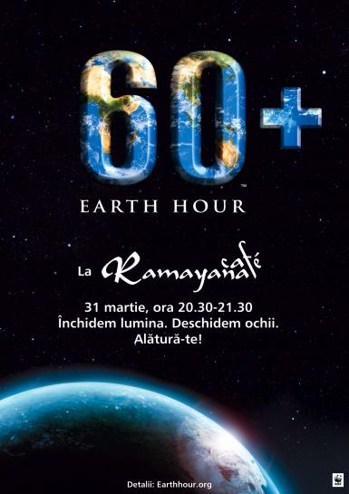 poze earth hour la ramayana cafe
