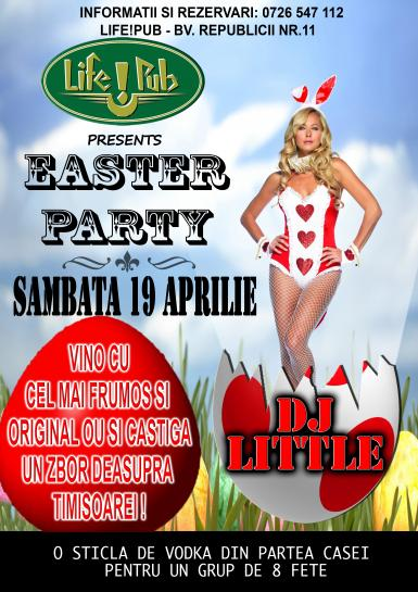 poze easter party cu dj little