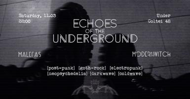 poze echoes of the underground control club