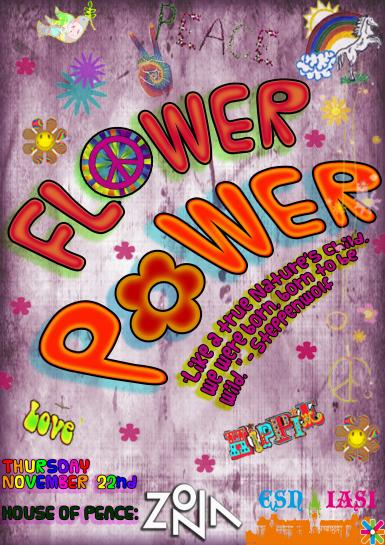 poze esn iasi flower power party