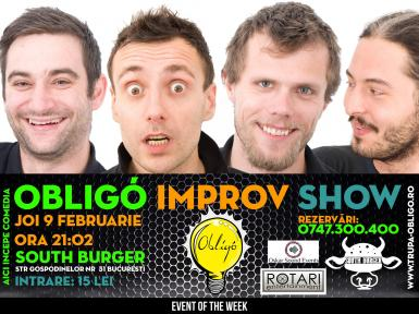 poze event of the week improv show trupa obligo