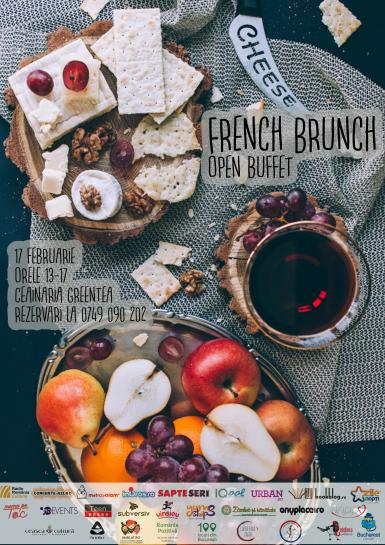 poze french brunch open buffet