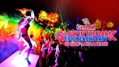 poze glow in the dark epic beach party