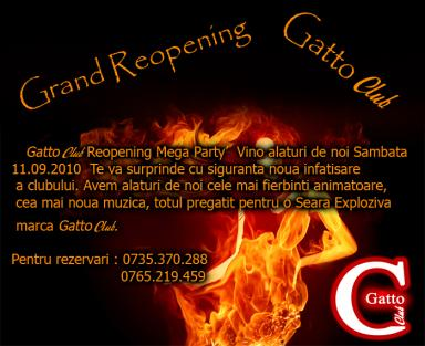 poze grand reopening gattoclub