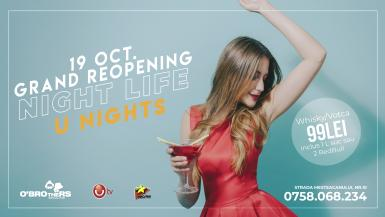 poze grand reopening o brothers night life u nights