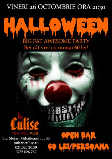 poze halloween big fat awesome party