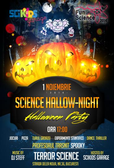 poze halloween party 2014 science hallow night