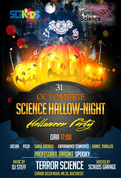 poze halloween party 2015 science hallow night