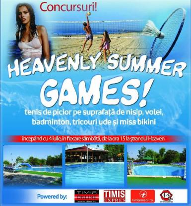 poze heavenly summer games