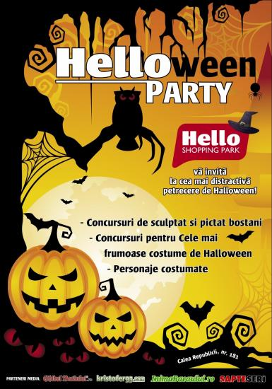 poze  helloween party la hello shopping park
