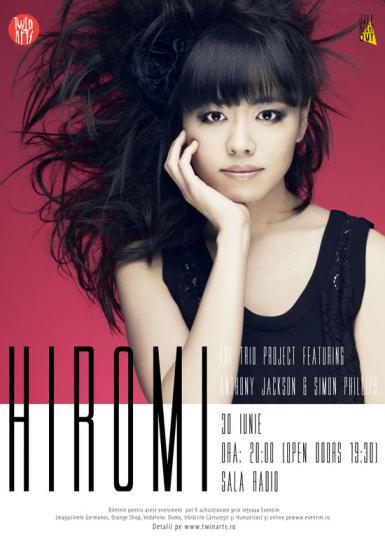 poze hiromi the trio project